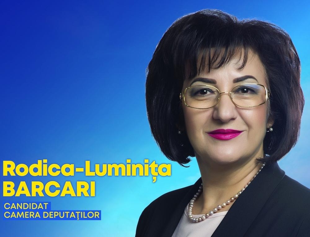 """Luminița Barcari, candidat la funcția de deputat (PNL): """"Educația este una dintre cele mai importante """"arme"""" pentru un viitor mai bun"""""""