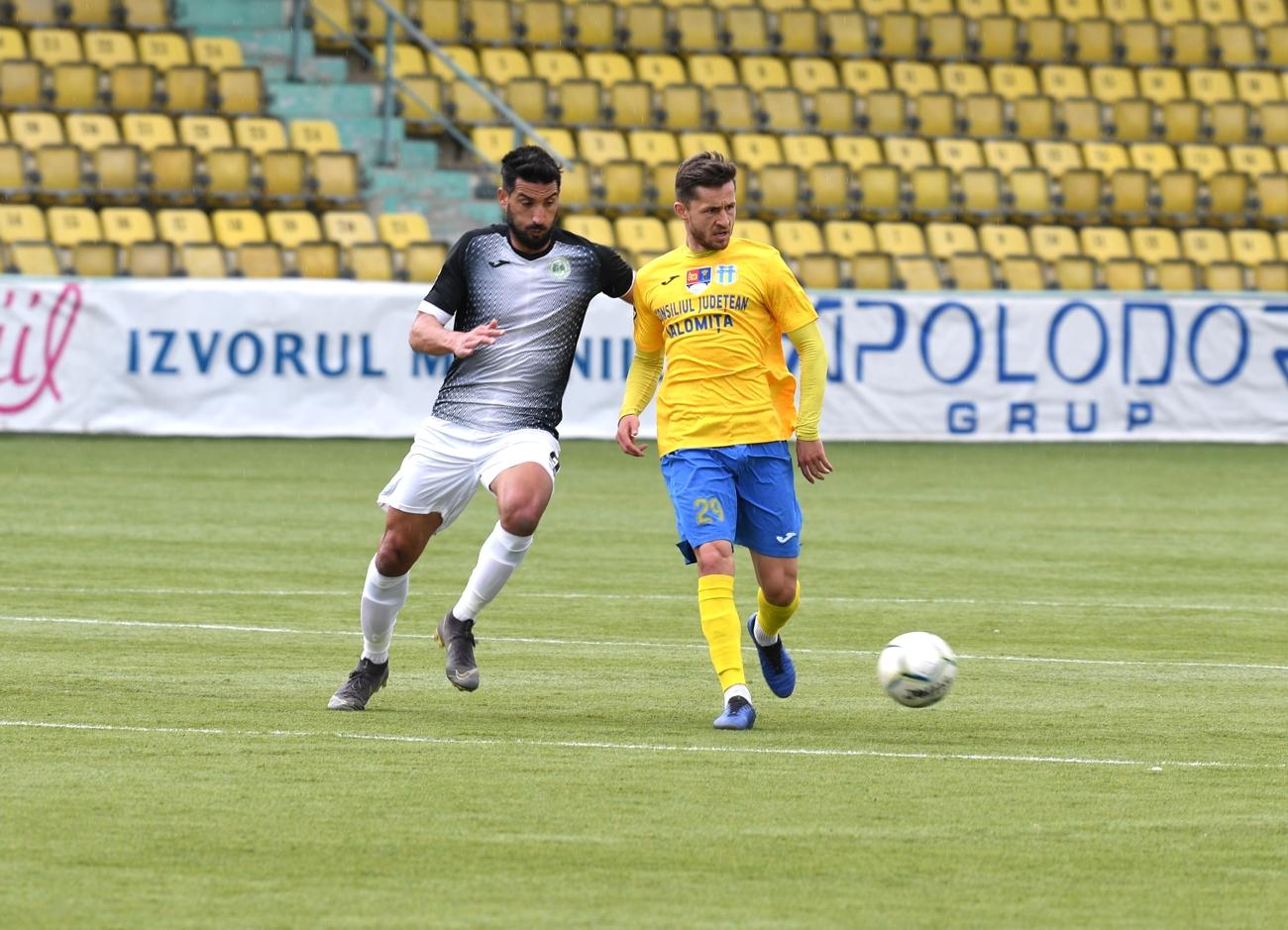 Unirea Slobozia începe cu rezultat pozitiv lupta pentru supraviețuire în Liga 2