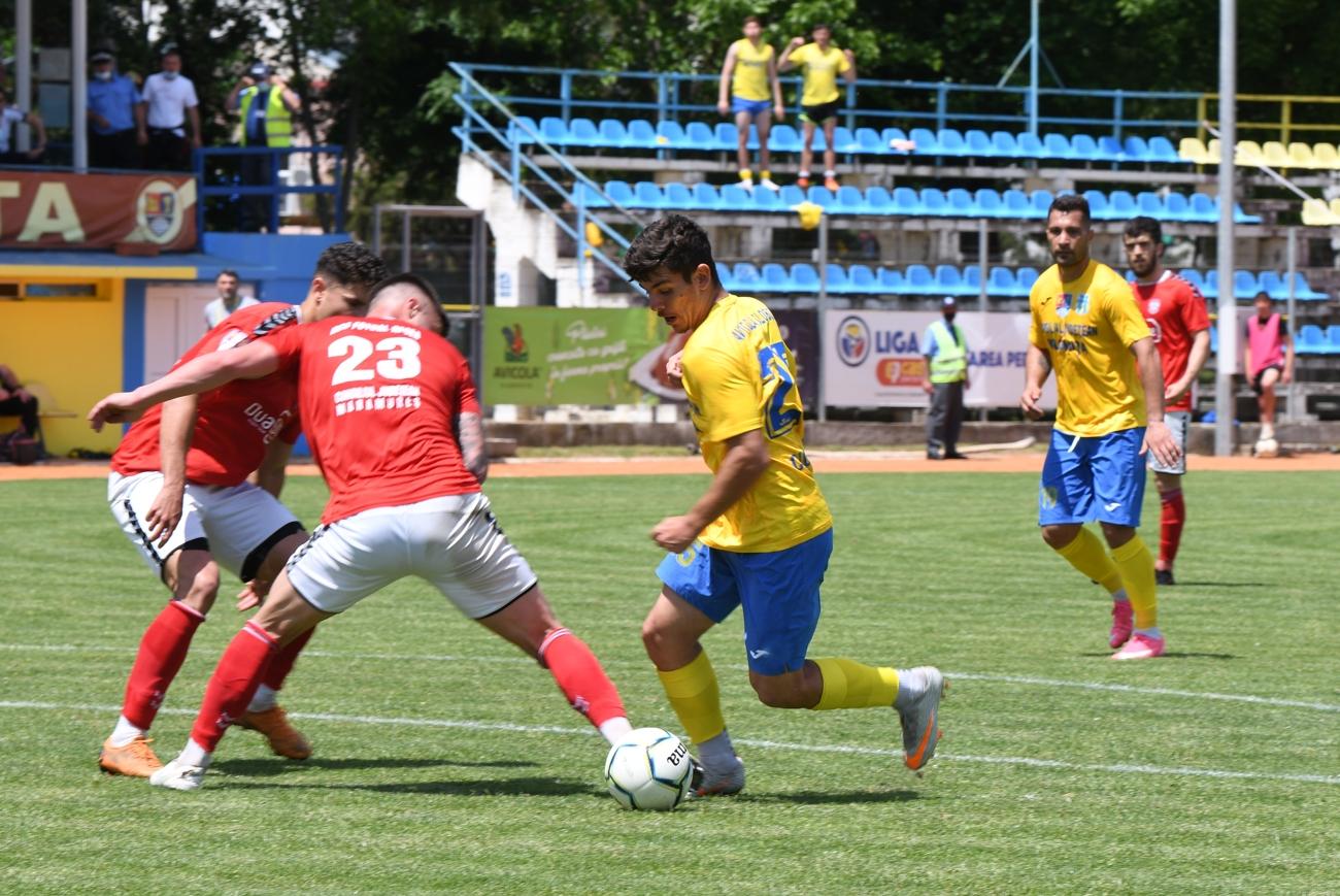 Marius Ciobanu a jucat în ambele meciuri ale naționalei de fotbal România U18