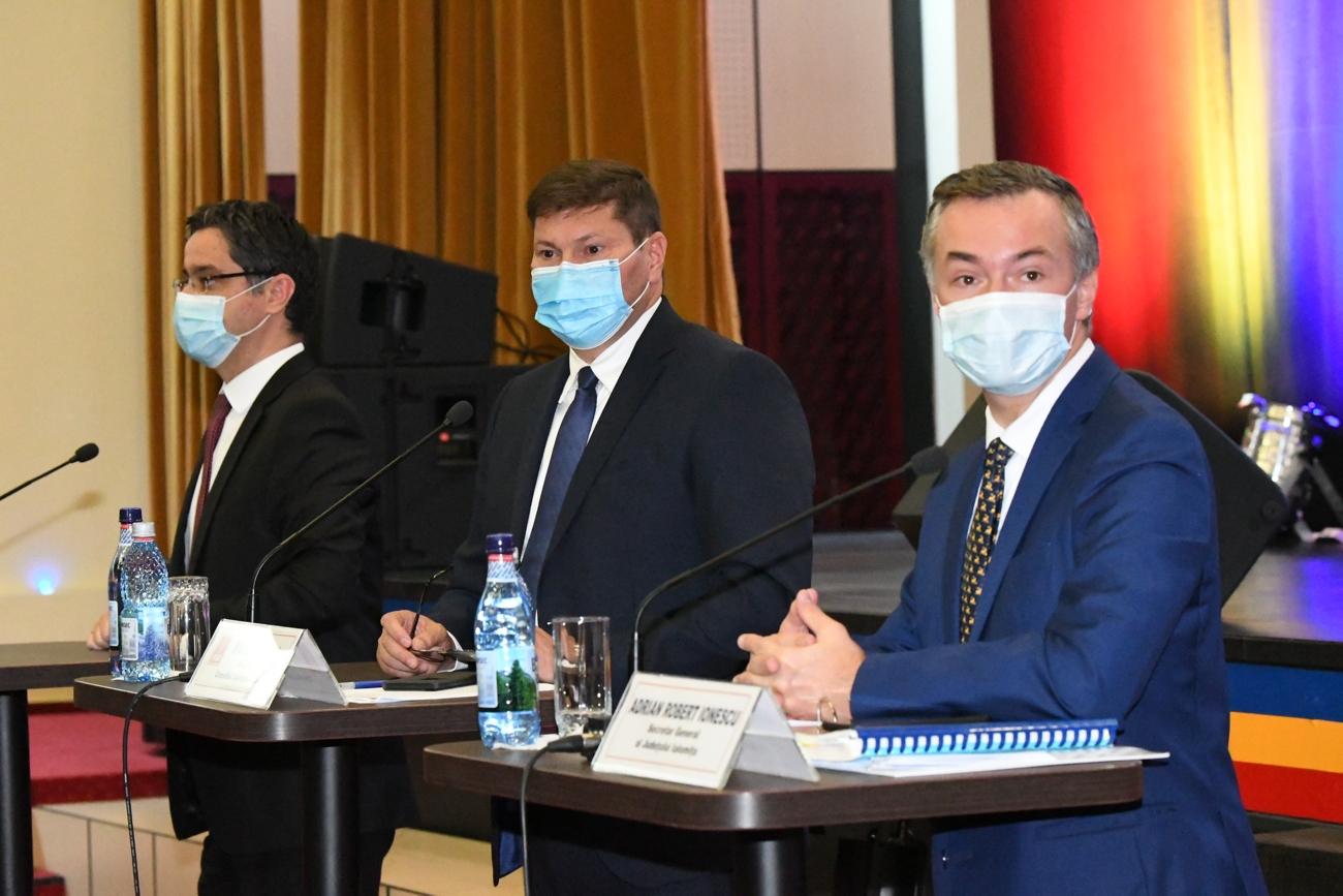 Comunicat de presă: Ședință extraordinară a Consiliului Județean Ialomița
