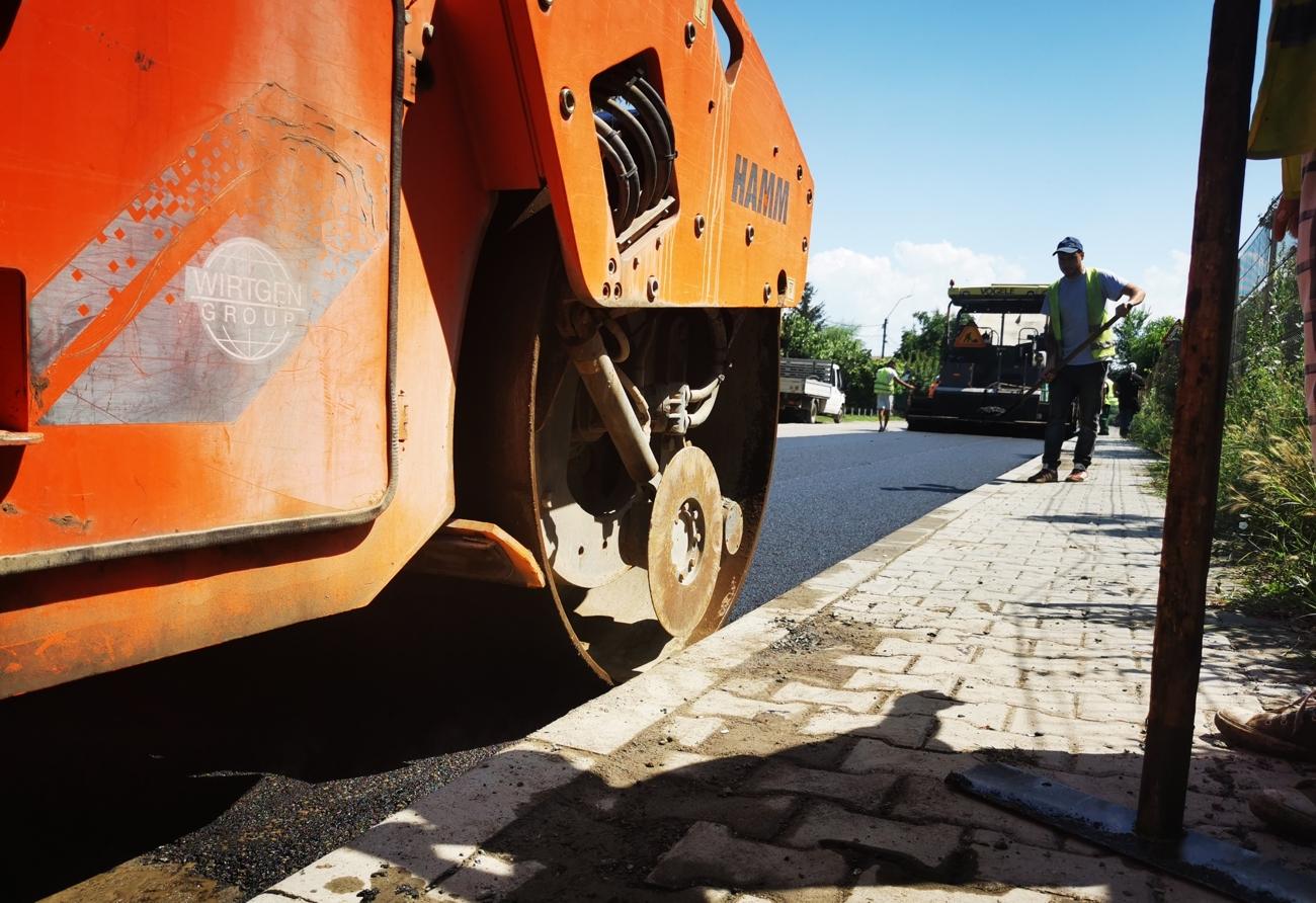 Primăria Fetești a folosit deja fondurile pentru drumuri primite de la Consiliul Județean Ialomița